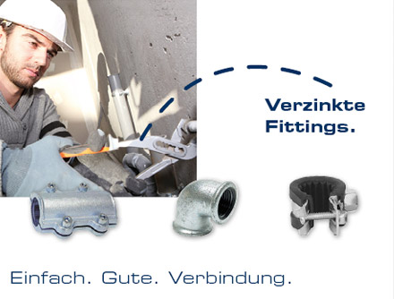 Handwerk - Verzinkte Fittings